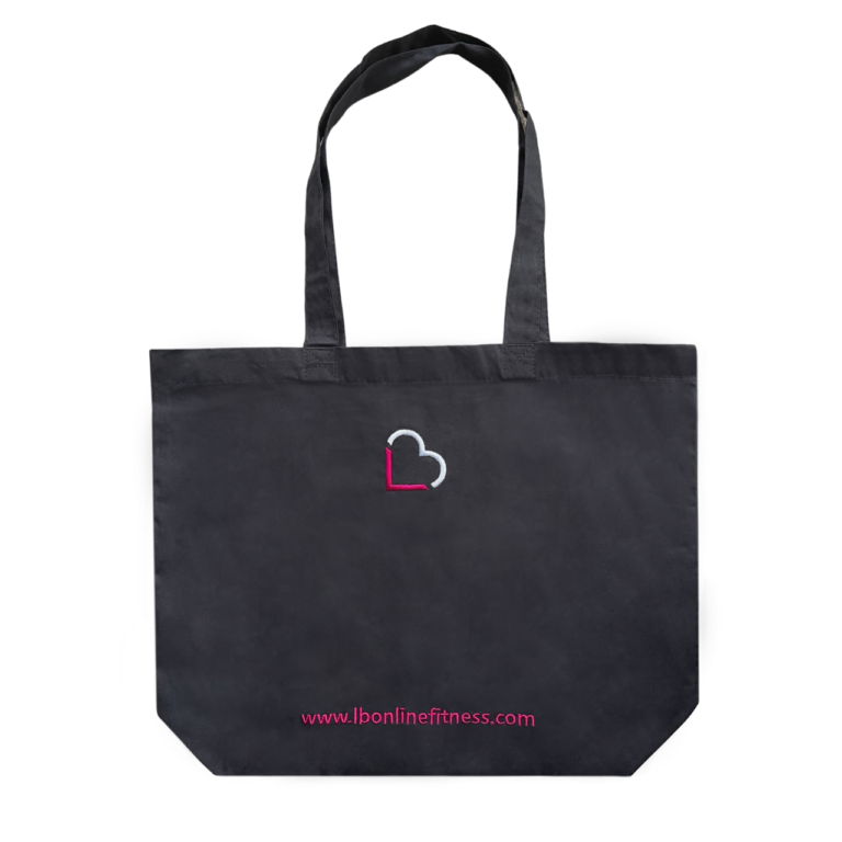 LB Tote Bag - Black