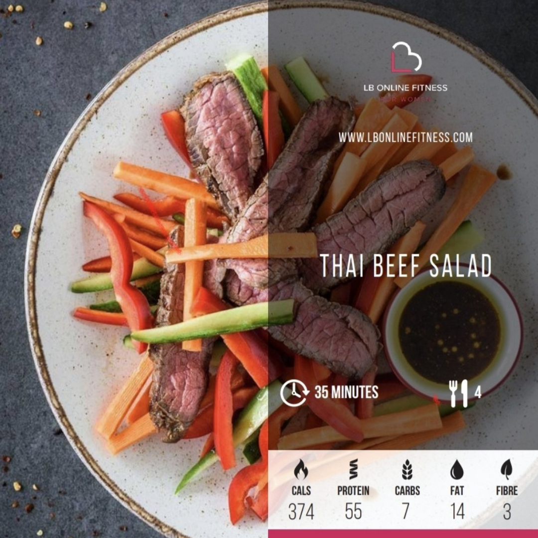Recipe of the Month: Thai Beef Salad
